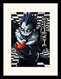 Death Note - Ryuk Apple - Gerahmter Kunstdruck | 30 x 40 cm | Originales Merchandise