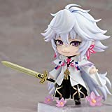 PVC-Material Abbildung Statuen 10Cm Caster Merlin Figur Magus of Flowers Version Cartoon PVC Actionfigur Modell Spielzeug Geschenk Die Erste Wahl for Geschenke Mother's Day Gift
