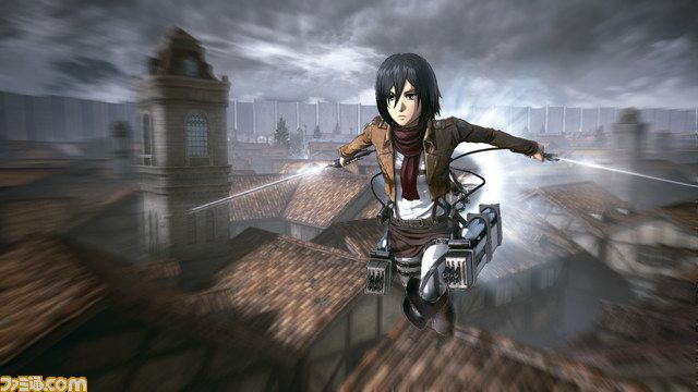 Attack on Titan Spiel Gameplay Screenshot