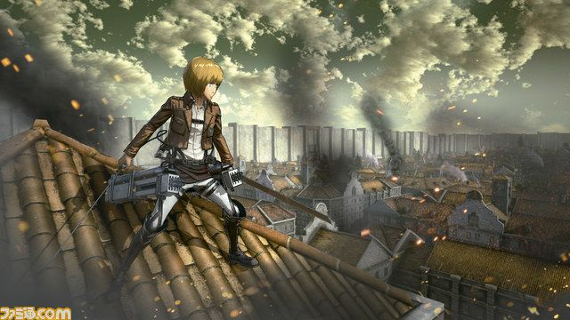 Attack on Titan Spiel Gameplay