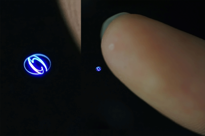 Touch Hologramm
