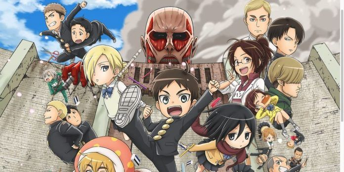 Attack on Titan Junior High Titelbild