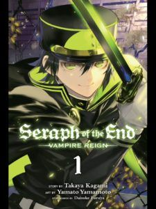 seraph of the end cover