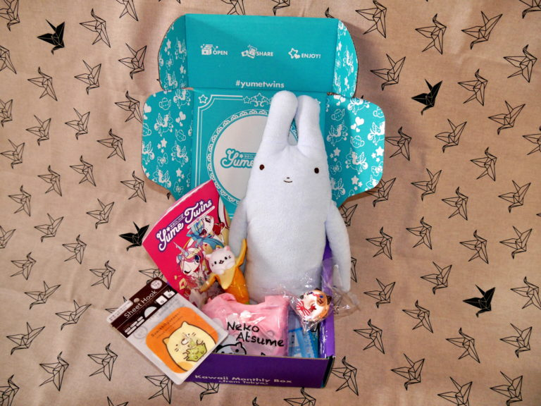 Unboxing: YumeTwins Kawaii Monthly Box