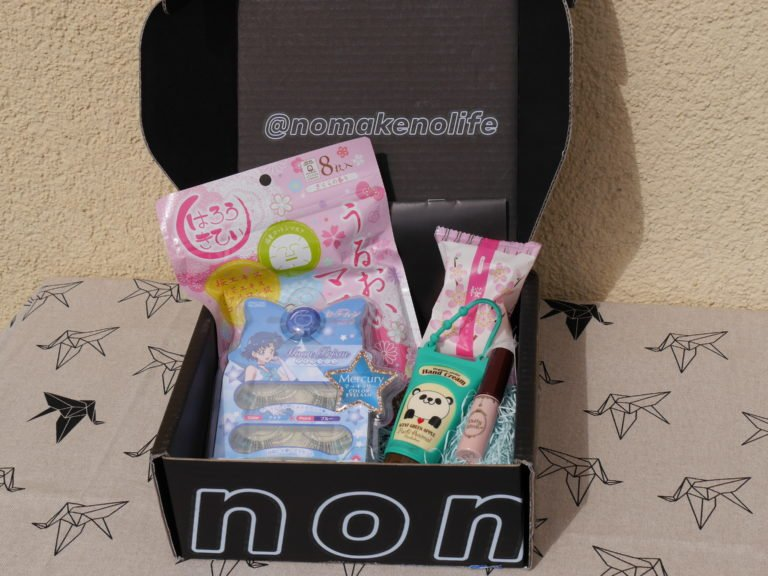 Unboxing nomakenolife Februar 2017 Japanese Beauty Box