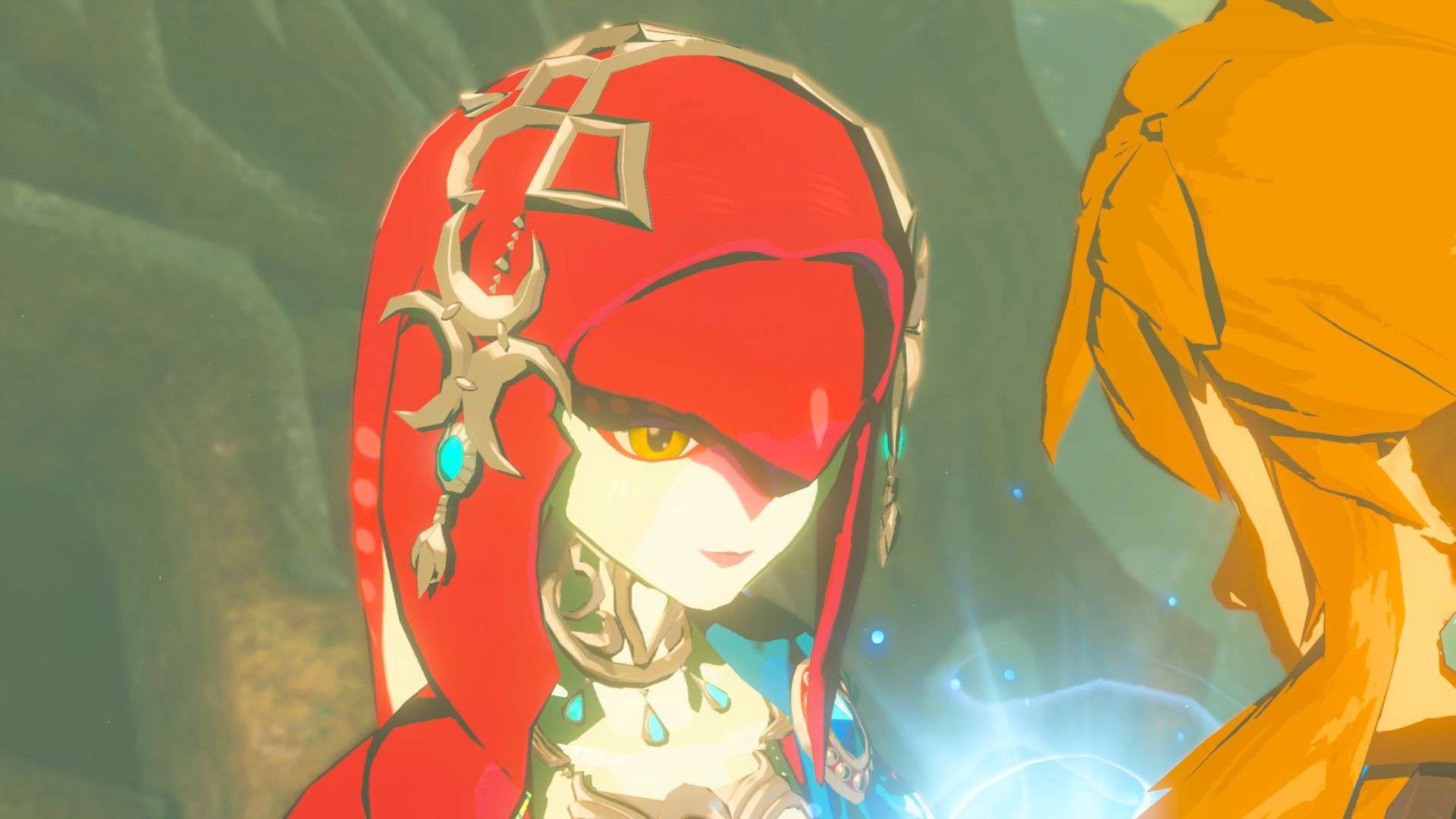 The Legend of Zelda Mipha und Link