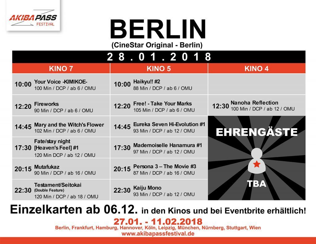 Berlin Timetable