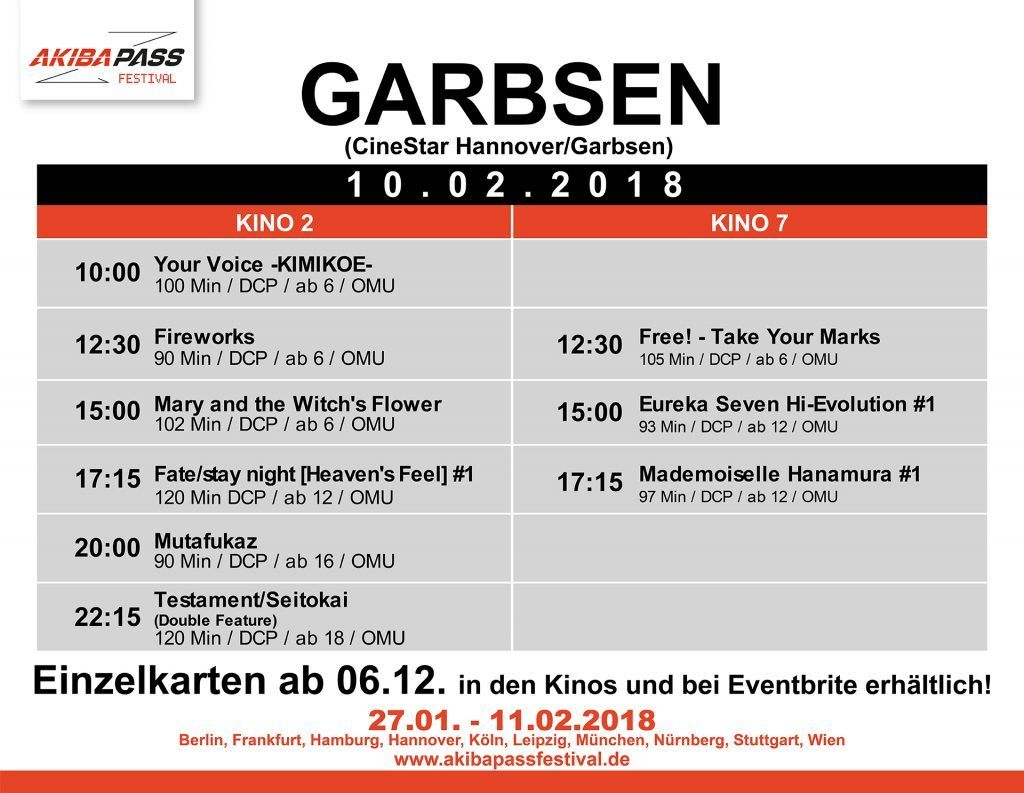 Garbsen Timetable