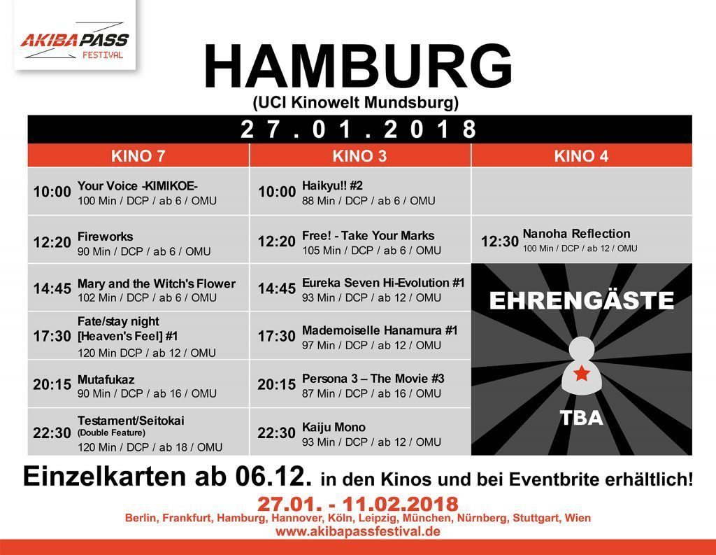 Hamburg Timetable