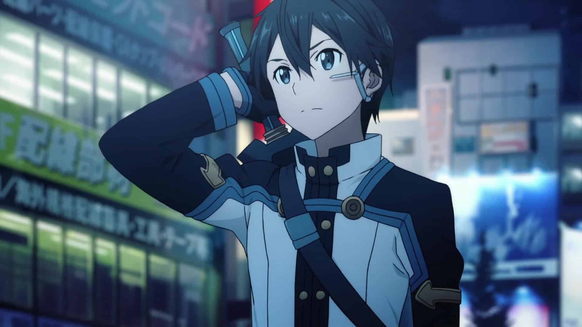Sword Art Online Ordinal Scale 01