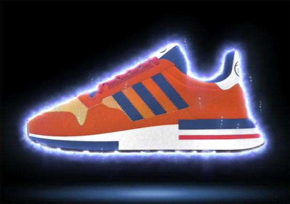 Adidas Dragon Ball Zx 500 Rm Son Gokou