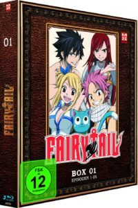 Fairy Tail Box 1 Cover