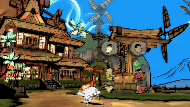 Review zu Okami HD | PS4