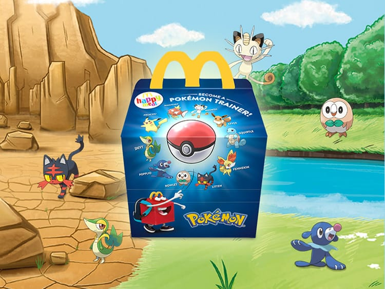 Happy Meal Mockup