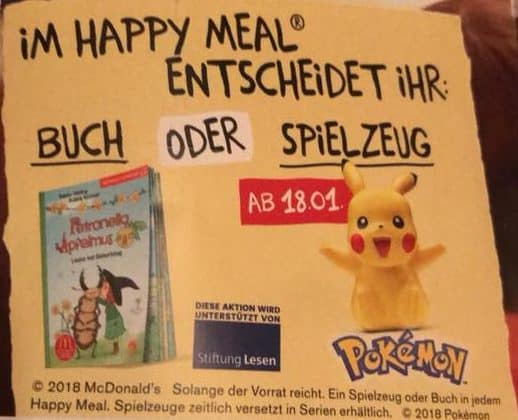 Happy Meal Pokemon