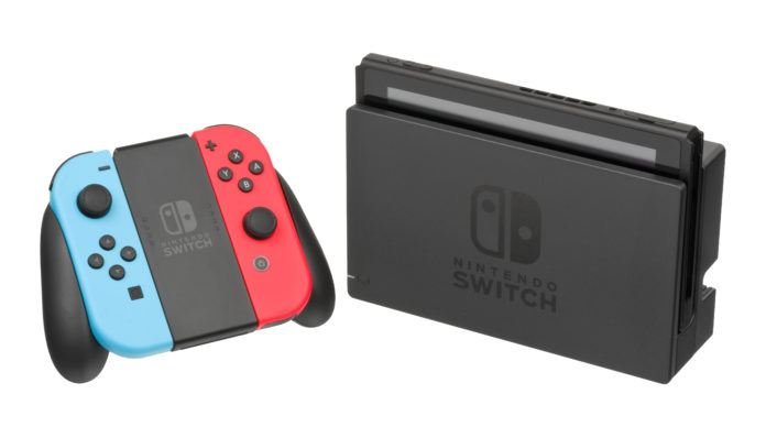 Nintendo Switch Console Docked Wjoyconrb