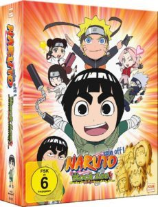 Naruto Spin Off Box 1 Cover