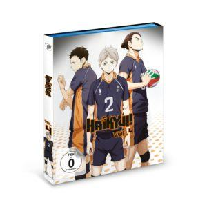 Haikyu Volume 4 Cover