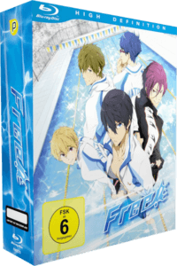 Free! Cover Vol 1+2