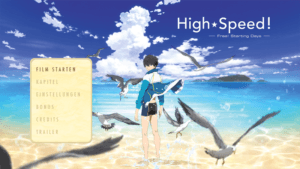 Menu – High Speed – Free! Starting Days –