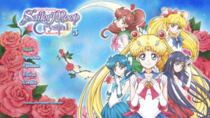 Sailor Moon Crystal Diskmenu