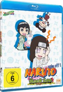 Naruto Spin Off Rock Lee Und Seine Ninja Kumpels Volume 2 Cover