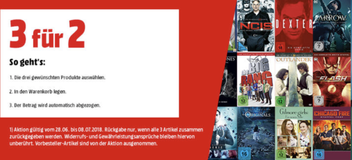 Media Markt 3 für 2-Aktion
