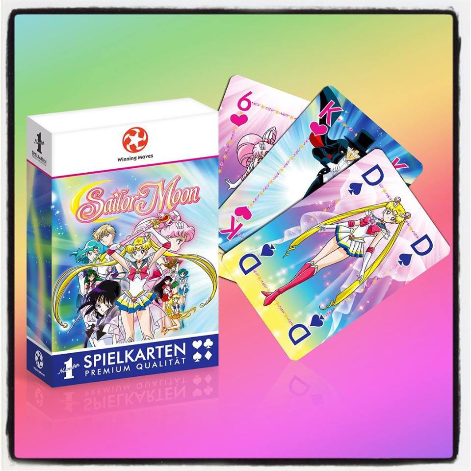 Sailor Moon Spiekarten