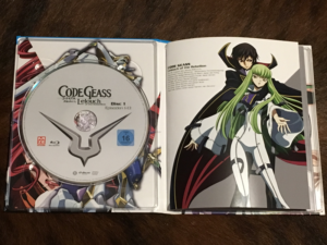 Verpackung Code Geass – Lelouch Of The Rebellion