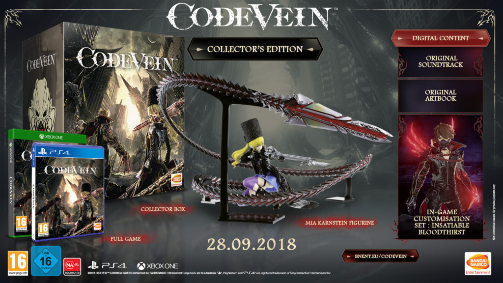 Code Vein Collectors Edition