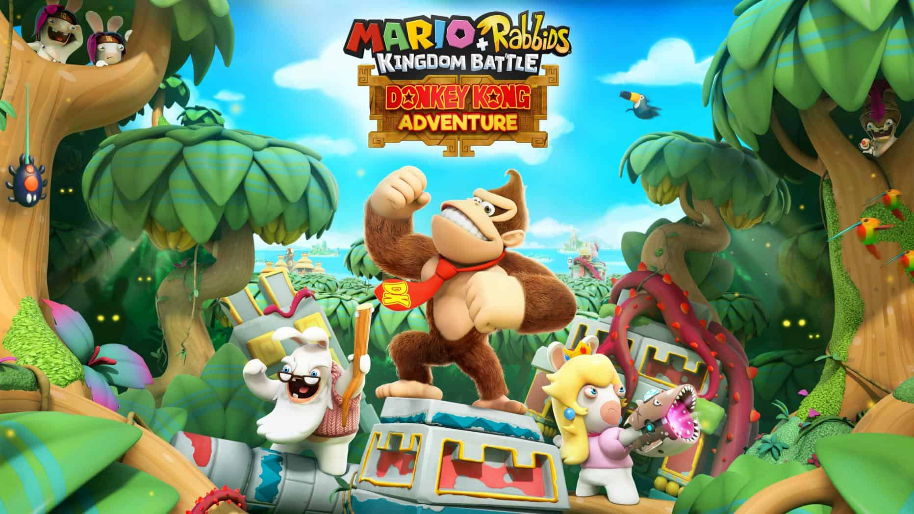 Mario Rabbids Kingdom Battle Donkey Kong Dlc