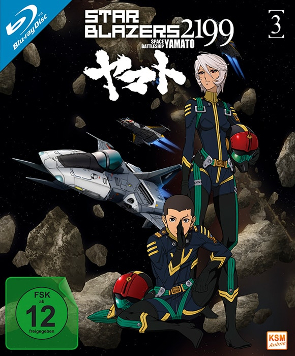 Star Blazers 2199 – Space Battleship Yamato 3 Cover
