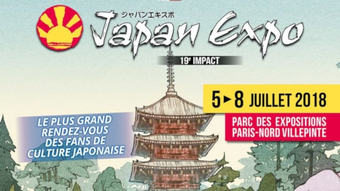 Affiche Cover Japan Expo 2018