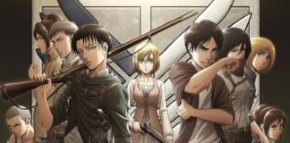 Attack On Titan Season 3 Characters Poster