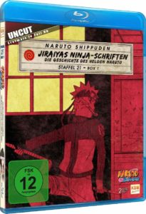 Naruto Shippuden Staffel 21 Box 1 Cover