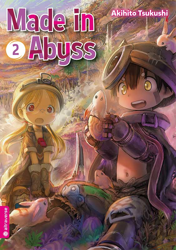 Made In Abyss Band 2 Cover