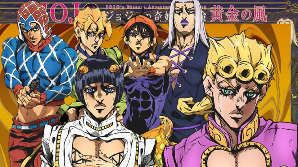 Jojos Bizarre Adventure Golden Wind