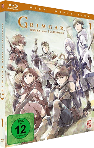 Grimgar, Ashes And Illusions Vol. 1 Cover
