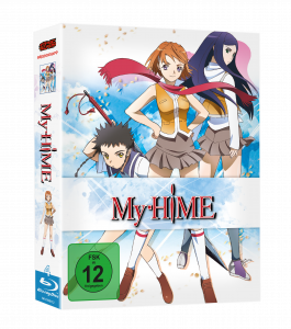My Hime Bd Cover 3d