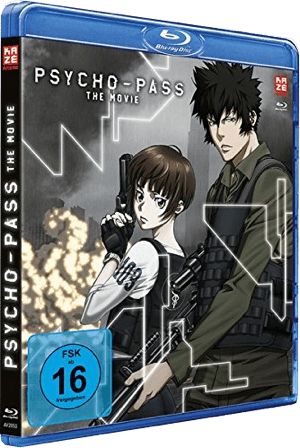 Psycho Pass – The Movie Verpackung