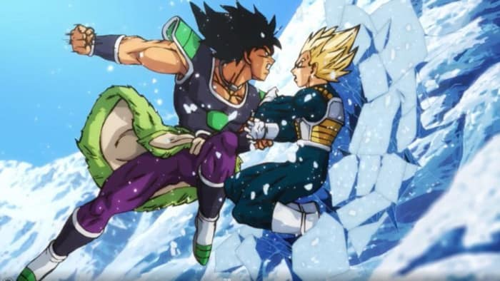 Dragon Ball Super Broly Movie Trailer Broly Vs Vegeta 1123846
