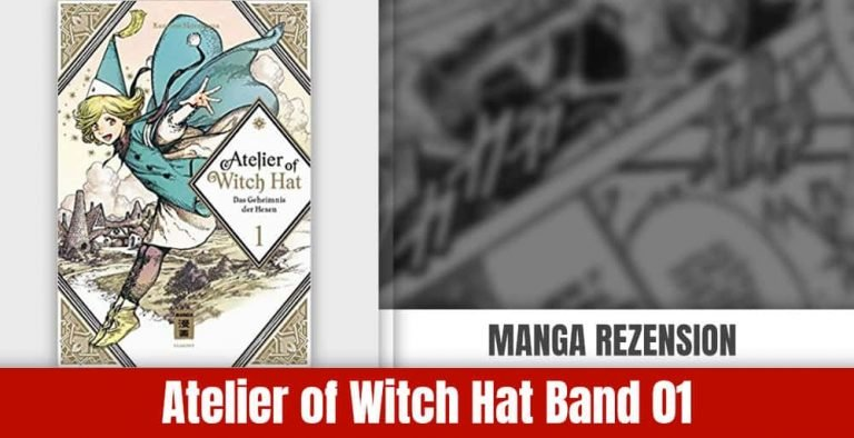 Review zu Atelier of Witch Hat Band 1