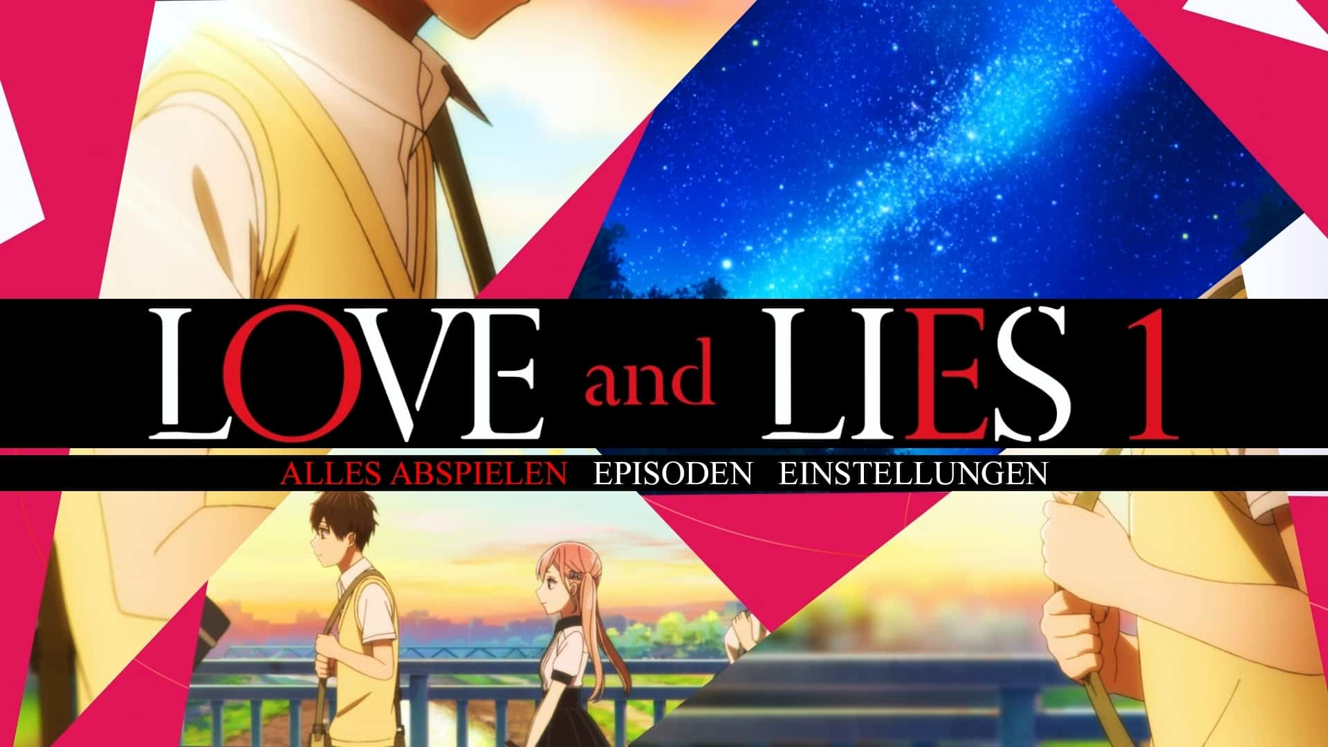 Love And Lies Menü