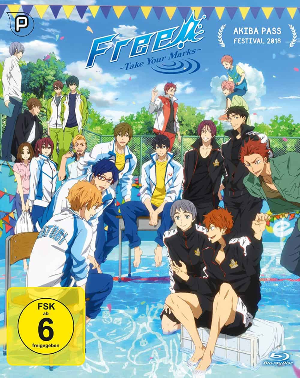 Free! – Take Your Marks – Cover Blu Ray