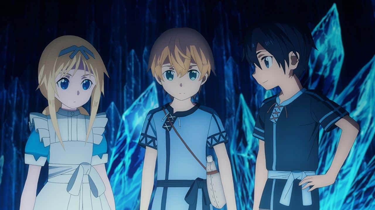 Sword Art Online Alicization 1