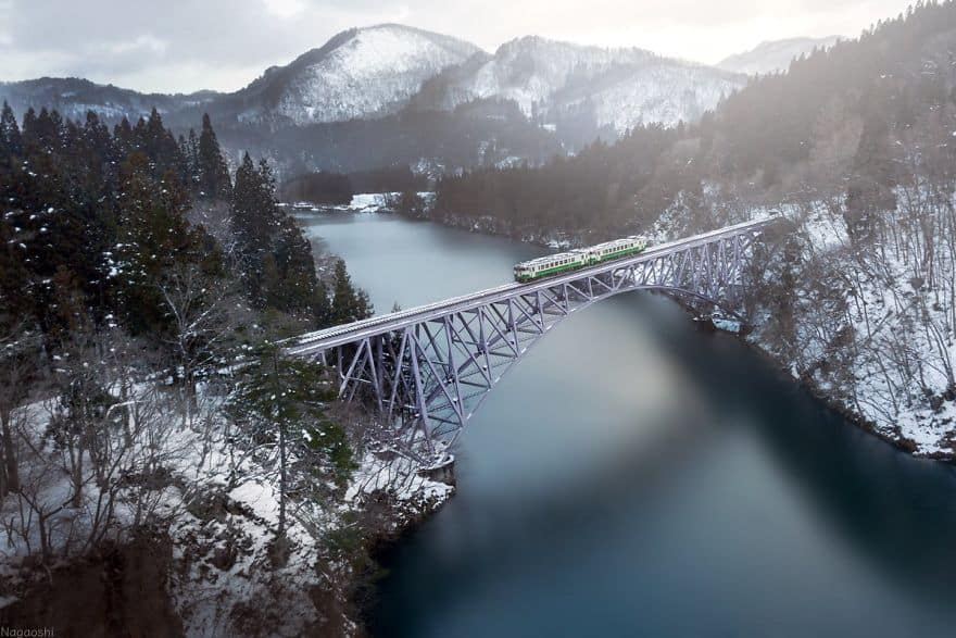 Beautiful Winter Photos Naagaoshi Japan