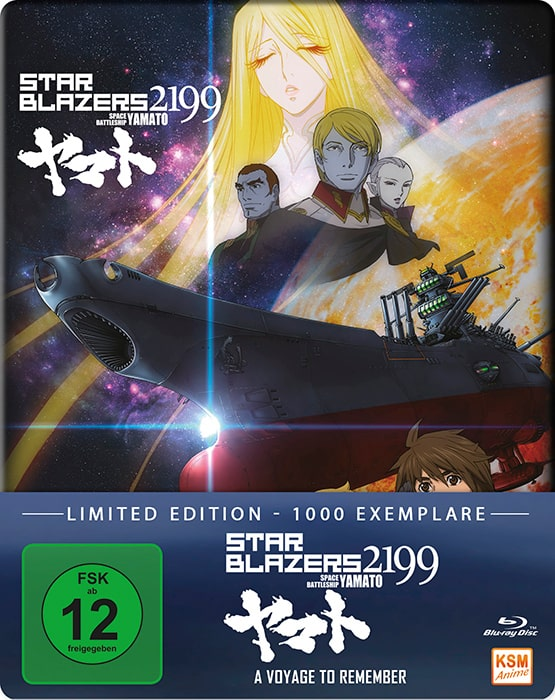 Star Blazers 2199 – Space Battleship Yamato – A Voyage To Remember Cover