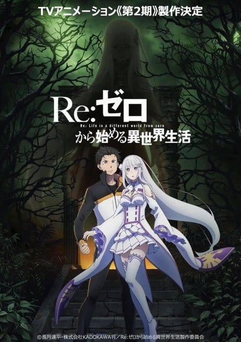 Re Zero Visual