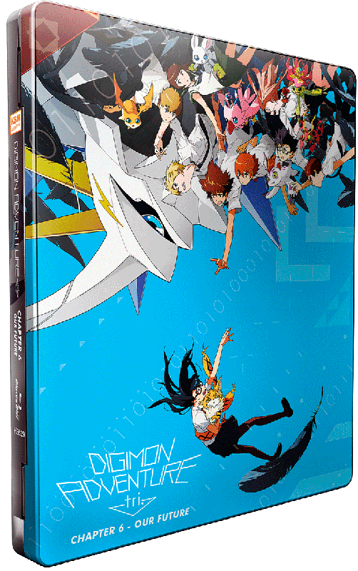 Digimon Adventure Tri Chapter 6 Cover 1