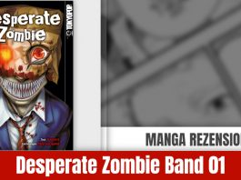 Review Desperate Zombie Band 01